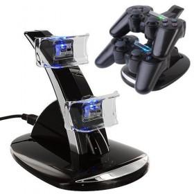 Caricatore doppio controller PlayStation 4