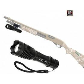 Torcia Led Cree XM-L T6 con supporto fucile