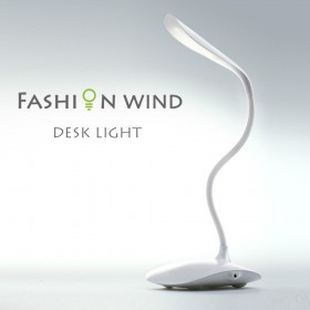 Lampada da scrivania 14 LED-Bianco