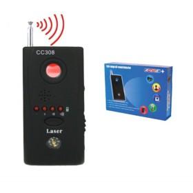 RILEVATORE SPIONAGGIO MICROSPIE CIMICI SPY GSM E MICROTELECAMERE CC308+