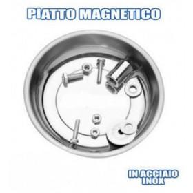 VASCHETTA VASSOIO PIATTO MAGNETICO PORTA MINUTERIE VITI E BULLONI TONDO 108mm
