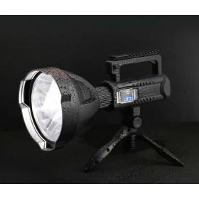TORCIA LAMPADA RICARICABILE ULTRA POTENTE 100W LED CREE XHP50 FINO A 1KM Q-L445