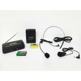 Microfono wireless ad archetto + cimice