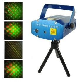 Mini proiettore laser discoteca