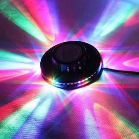 Lampada da parete effetto disco