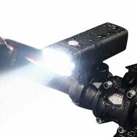 TORCIA LUCE LED FANALE BICICLETTA FARO CREE XML-T6 MTB BICI TE-B0084 NEW